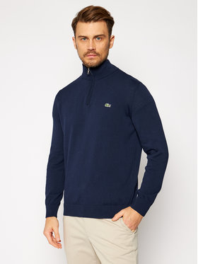 Lacoste Lacoste Sweter AH1980 Granatowy Classic Fit