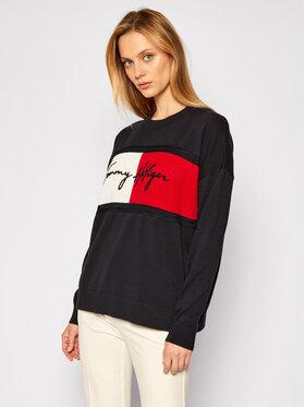 Tommy Hilfiger Tommy Hilfiger Sweater WW0WW28873 Fekete Regular Fit
