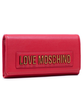 LOVE MOSCHINO LOVE MOSCHINO Große Damen Geldbörse JC5625PP1BLK0500 Rot