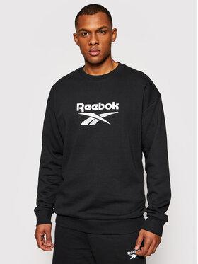 Reebok Reebok Bluză Classics Vector GU3883 Negru Oversize
