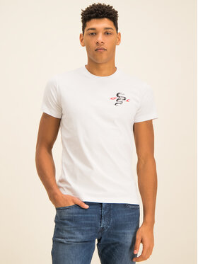 Diesel Diesel T-shirt T-Diego-J16 00SDNV 0091A Blanc Regular Fit