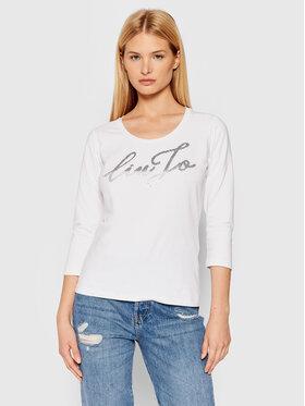 Liu Jo Liu Jo Μπλουζάκι WF1401 J0088 Λευκό Regular Fit