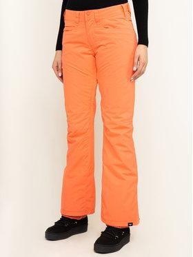 Roxy Roxy Pantalon de snowboard Backyard ERJTP03091 Orange Slim Fit