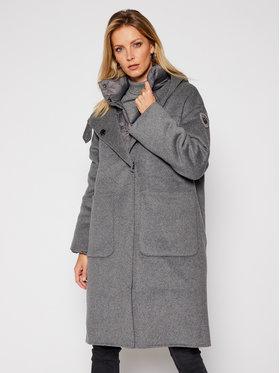 Blauer Blauer Manteau en laine Donna 20WBLDK05031 005831 Gris Regular Fit