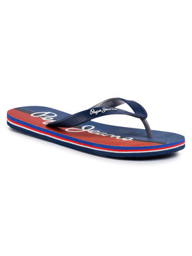 Pepe Jeans Pepe Jeans Infradito Hawi Watercolor PMS70087 Blu scuro