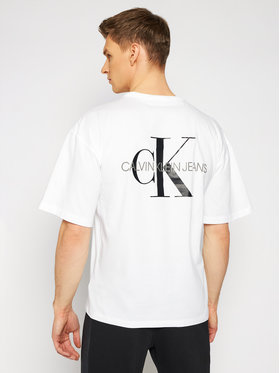 Calvin Klein Jeans Calvin Klein Jeans T-shirt J30J318310 Blanc Loose Fit