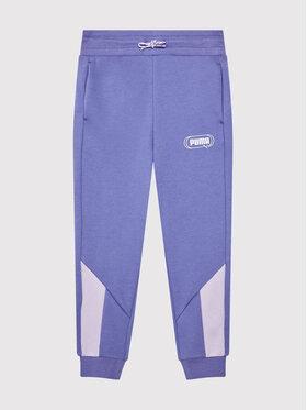 Puma Puma Pantalon jogging Rebel 586160 Violet Regular Fit