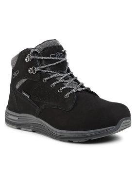 CMP CMP Туристически oбувки Nibal Mid Lifestyle Shoe Wp 39Q4957 Черен