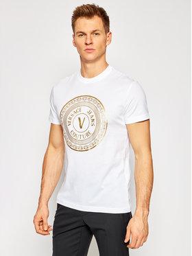 Versace Jeans Couture Versace Jeans Couture Póló B3GWA7TE Fehér Slim Fit