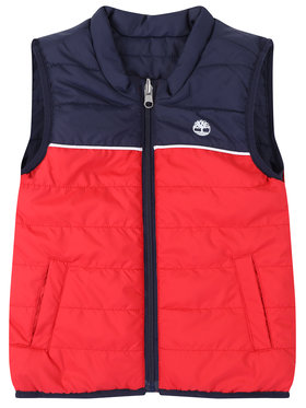 Timberland Timberland Gilet T26505 D Rosso Regular Fit