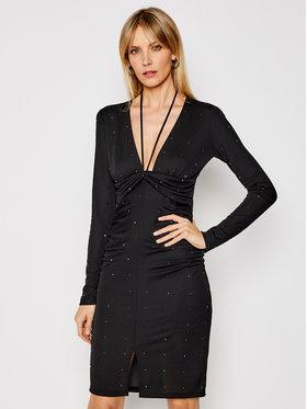 Patrizia Pepe Patrizia Pepe Φόρεμα κοκτέιλ 8A0794/A8M2-K103 Μαύρο Slim Fit