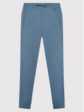 Calvin Klein Jeans Calvin Klein Jeans Teplákové kalhoty Institutional Spray IB0IB00922 Modrá Regular Fit