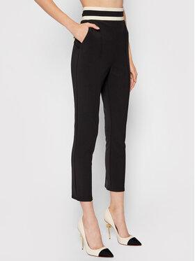 Elisabetta Franchi Elisabetta Franchi Pantalon en tissu PA-389-16E2-V290 Noir Slim Fit