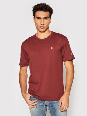 Champion Champion T-shirt 216545 Marron Regular Fit