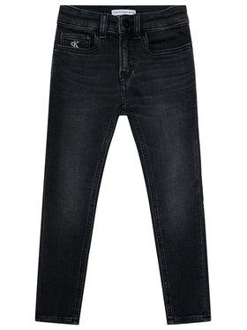 Calvin Klein Jeans Calvin Klein Jeans Džínsy Skinny IB0IB00510 Čierna Skinny Fit