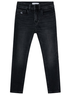 Calvin Klein Jeans Calvin Klein Jeans Jeansy Skinny IB0IB00510 Černá Skinny Fit