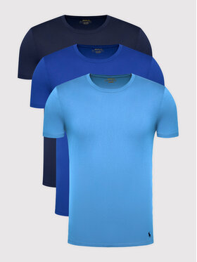 Polo Ralph Lauren Polo Ralph Lauren Komplet 3 t-shirtów Classic Crew 714830304006 Granatowy Regular Fit