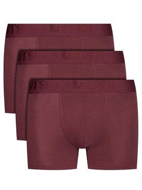 Levi's® Levi's® 3er-Set Boxershorts 905045001 Dunkelrot