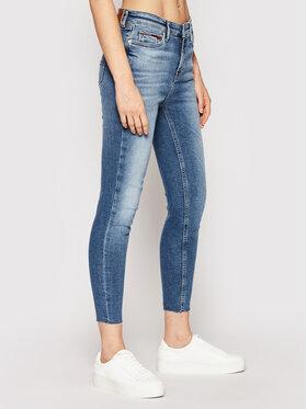 Tommy Jeans Tommy Jeans Džínsy Nora DW0DW09468 Tmavomodrá Skinny Fit