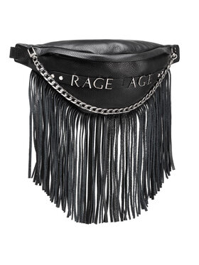 Rage Age Rage Age Borsetă Fringe Negru