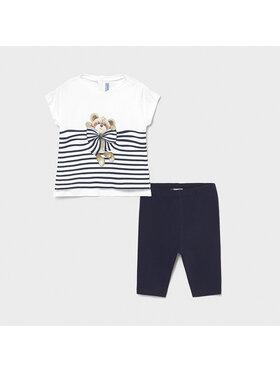 Mayoral Mayoral Set T-Shirt und Leggings 1716 Dunkelblau Regular Fit