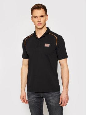 EA7 Emporio Armani EA7 Emporio Armani Polo marškinėliai 3KPF03 PJ04Z 1200 Juoda Regular Fit