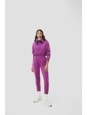 Sprandi Sprandi Spodnie dresowe AW21-SJD015 Różowy Regular Fit