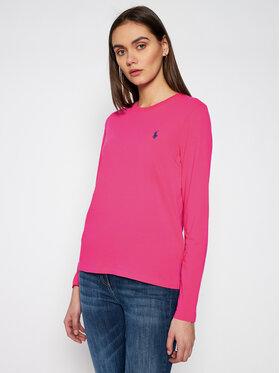 Polo Ralph Lauren Polo Ralph Lauren Bluză Lsl 211757946025 Roz Regular Fit