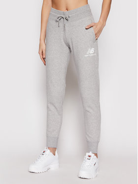 New Balance New Balance Jogginghose Esse NBWP03530 Grau Regular Fit
