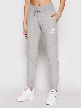 New Balance New Balance Spodnie dresowe Esse NBWP03530 Szary Regular Fit