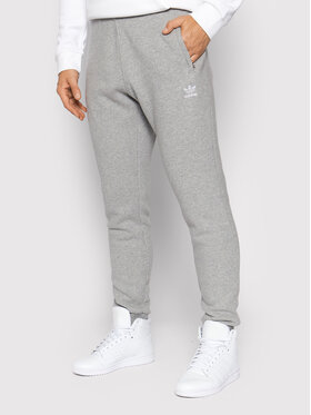 adidas adidas Teplákové nohavice adicolor Essentials Trefoil H34659 Sivá Slim Fit