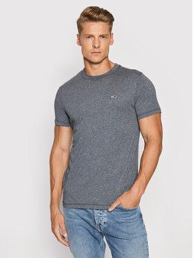 Tommy Jeans Tommy Jeans T-Shirt DM0DM11007 Tmavomodrá Slim Fit