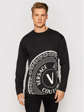 Versace Jeans Couture Versace Jeans Couture Тениска с дълъг ръкав 71GAHT20 Червен Regular Fit