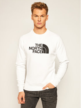 The North Face The North Face Bluză Drew Peak Crew NF0A4SVRLA91 Alb Regular Fit