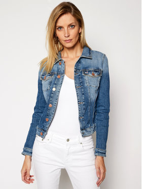 Tommy Jeans Tommy Jeans Geacă de blugi Vivianne DW0DW09133 Albastru Slim Fit