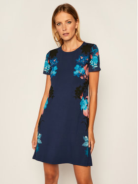 Desigual Desigual Kasdieninė suknelė Mirror 20WWVK50 Mėlyna Regular Fit