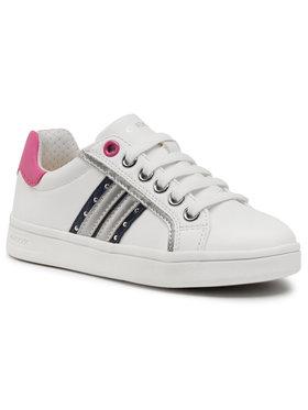 Geox Geox Sneakersy J Djrock G. G J944MG 000BC C0899 M Biela