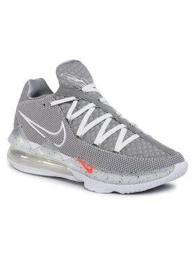 NIKE NIKE Обувки Lebron XVII Low CD5007 004 Сив