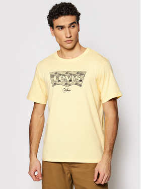Levi's® Levi's® T-Shirt Housemarked Graphic Tee 22489-0321 Gelb Regular Fit