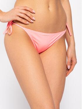 Calvin Klein Swimwear Calvin Klein Swimwear Dół od bikini Cheeky String Side Tie KW0KW00936 Różowy