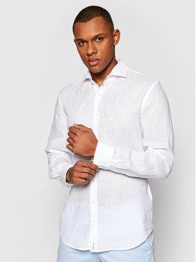 Baldessarini Baldessarini Marškiniai Henry B3 10000/000/3030 Balta Tailored Fit