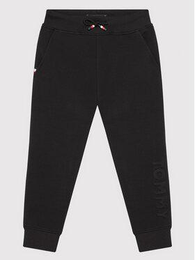 Tommy Hilfiger Tommy Hilfiger Spodnie dresowe Embossed KB0KB06383 Czarny Regular Fit