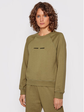 Samsøe Samsøe Samsøe Samsøe Bluză Barletta F19218100 Verde Relaxed Fit