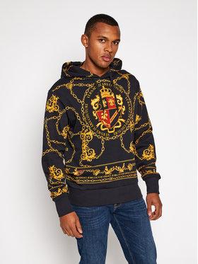 Versace Jeans Couture Versace Jeans Couture Sweatshirt B7GZB7KG Schwarz Regular Fit