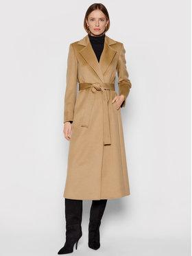 MAX&Co. MAX&Co. Žieminis paltas Longrun 40149521 Ruda Regular Fit