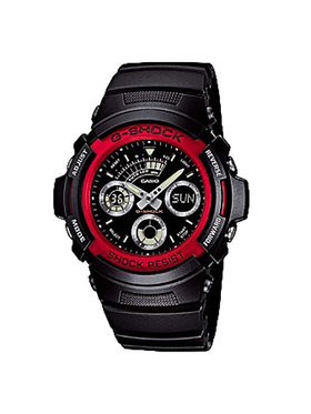 G-Shock G-Shock Montre AW-591-4AER Noir