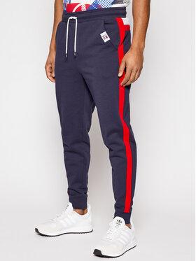 Tommy Jeans Tommy Jeans Teplákové nohavice Mix Media Basketball DM0DM10634 Tmavomodrá Regular Fit