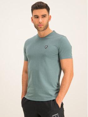 EA7 Emporio Armani EA7 Emporio Armani T-Shirt 8NPTL8 PJ03Z 1858 Zielony Regular Fit