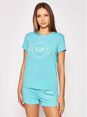 EA7 Emporio Armani EA7 Emporio Armani T-shirt 3KTT22 TJ1TZ 1517 Plava Regular Fit