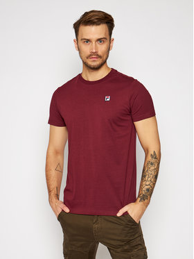 Fila Fila T-Shirt Seamus Tee 682393 Bordó Regular Fit